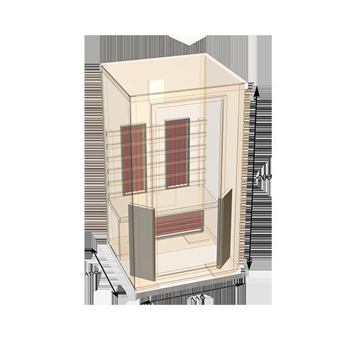 sauna-110 plattegond